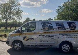 Car Keys Solutions mobile team van
